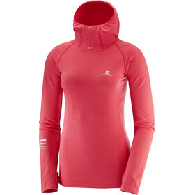 Salomon Lightning Pro - Camiseta manga larga running Mujer - rosa